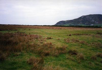 Towyn-on-Sea Golf Club, Gwynedd. Picture taken of the derelict course in 2004.