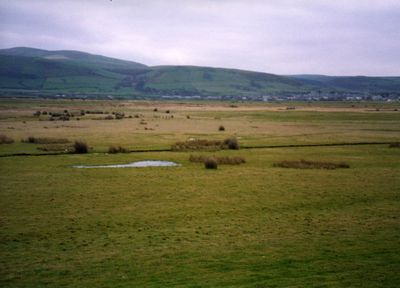 Towyn-on-Sea Golf Club, Gwynedd. View of the former course in 2004.